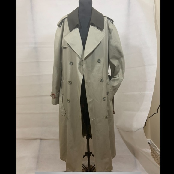Stafford men's trench coat